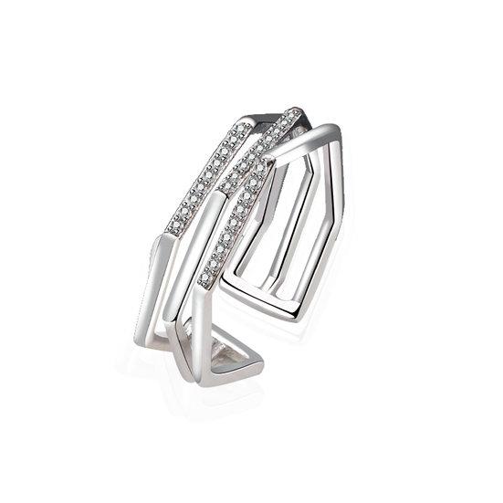 TIWIP.co.il | טבעת כסף 925 - טבעת הודיה