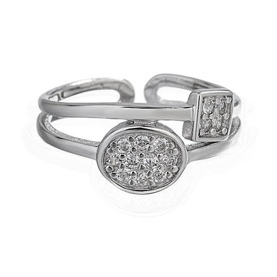 TIWIP.co.il | טבעת כסף 925 - טבעת עמית