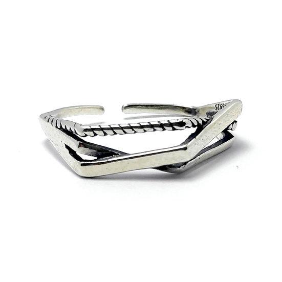 TIWIP.co.il | טבעת כסף 925 - טבעת דקל