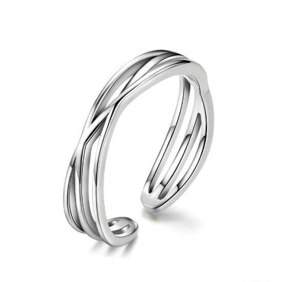 TIWIP.co.il   טבעת כסף 925 - טבעת לחן