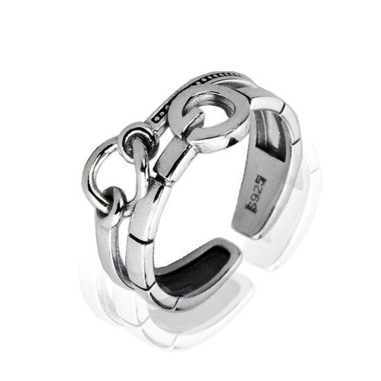 TIWIP.co.il | טבעת כסף 925 - טבעת דיה