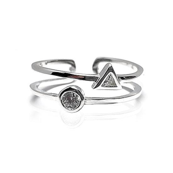 TIWIP.co.il | טבעת כסף 925 - טבעת גוני