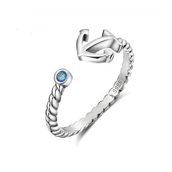 TIWIP.co.il   טבעת כסף 925 - טבעת אליסה