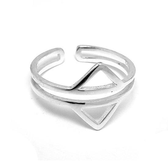 TIWIP.co.il | טבעת כסף 925 - טבעת לי