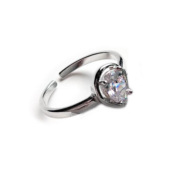 TIWIP.co.il   טבעת כסף 925 - טבעת אלינה