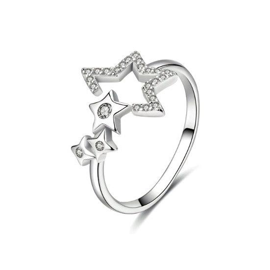 TIWIP.co.il   טבעת כסף 925 - טבעת שרונה