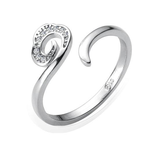 TIWIP.co.il | טבעת כסף 925 - טבעת איילין
