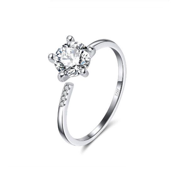 TIWIP.co.il   טבעת כסף 925 - טבעת מיילי