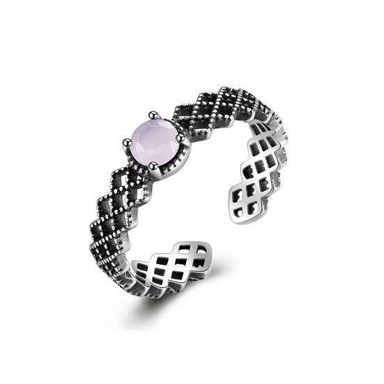 TIWIP.co.il   טבעת כסף 925 - טבעת מנור