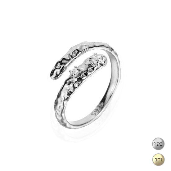 TIWIP.co.il | טבעת כסף 925 - טבעת ויטה