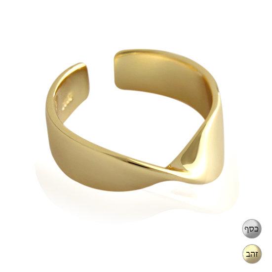 TIWIP.co.il | טבעת כסף 925 - טבעת אולגה