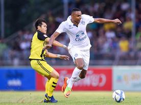 Com show de Jajá, Buriram United goleia na liga tailandesa