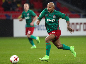 Atacante Ari renova empréstimo com Lokomotiv e aguarda cidadania russa
