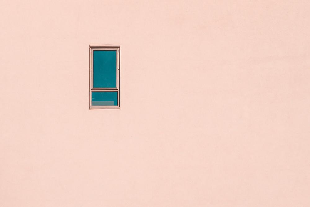 wallpaper, pink wall, emotions, thinking