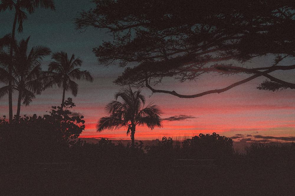 sunset, nature, emotions, thinking