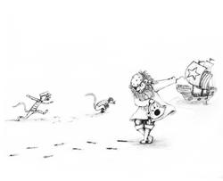 Alternate Monkey Sketch 2