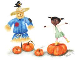 Pumpkin Patch Silliness