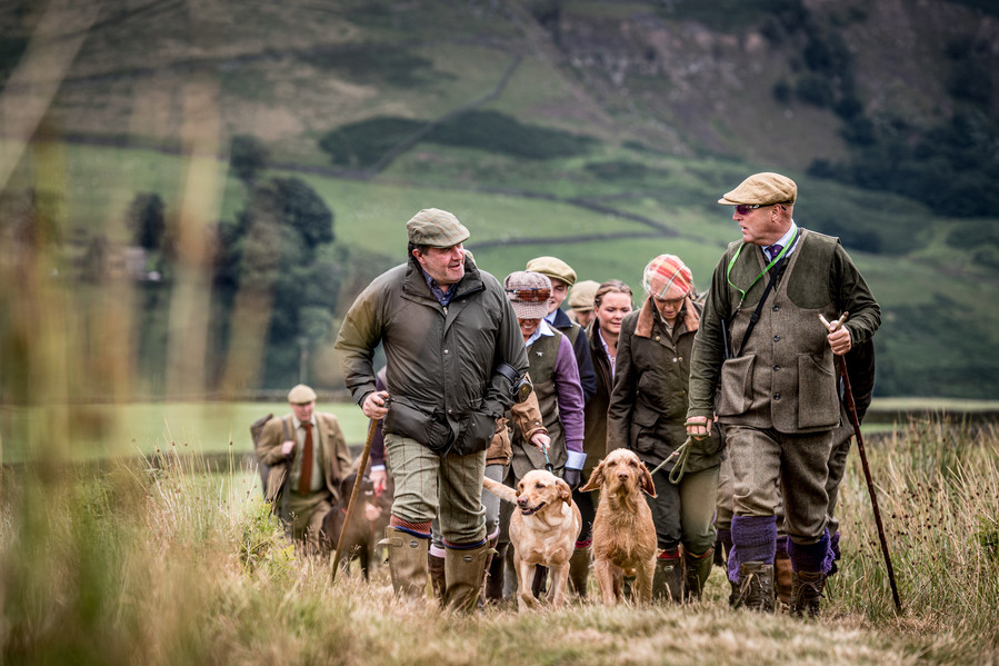 The Glorious 12th - Grouse Shoot, Yorkshire Dales