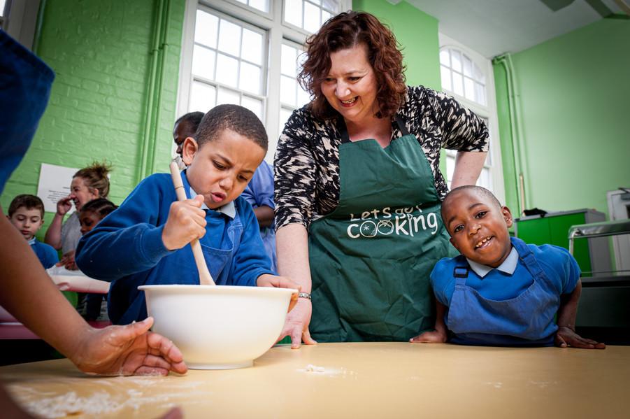 Headteacher Janice Thomas, Sebright School in Hackney