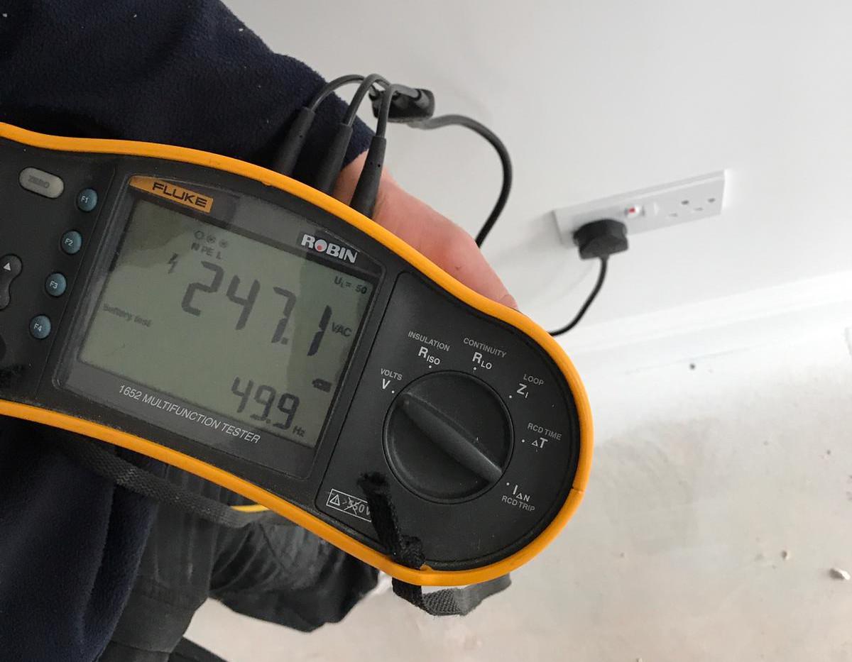 EICR - Electrical testing