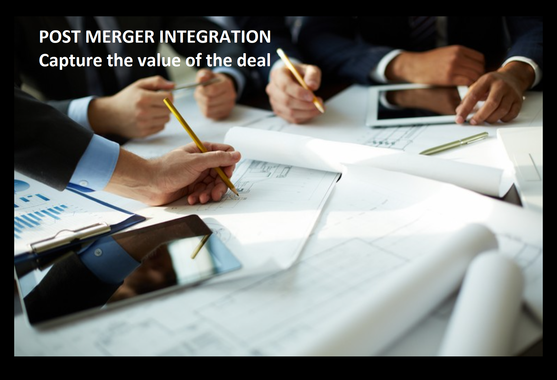 POST MERGER INTEGRATION Improve Finance | Optimus advice | Transformation
