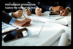 POST MERGER INTEGRATION Improve Finance | Optimus advice | Transformation