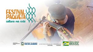 Teaser Festival Paquetá - Cultura na Rede - 2021
