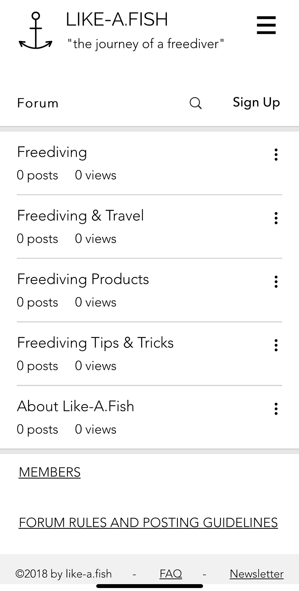 Freediving Forum / Apnea Blog Talks
