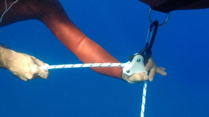 Octopus Freediving Weight / Rope Pulling System