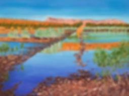 Station Boundary- Pentecost River, Oil 1