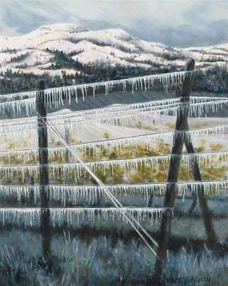 Dreaming of Ice Wine, Oil, 45x51cm,subm.
