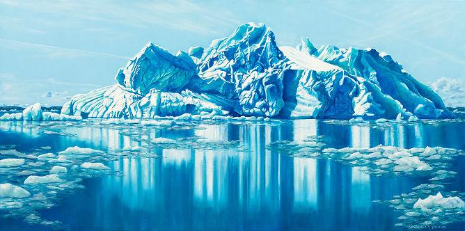 Ice Castle, Oil, 121 x 62.jpg