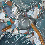 Jewels of the Sea-Rock and Shells, OIl 3