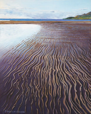 Ribbons of Sand, Oil, 40X50, low-res.jpg