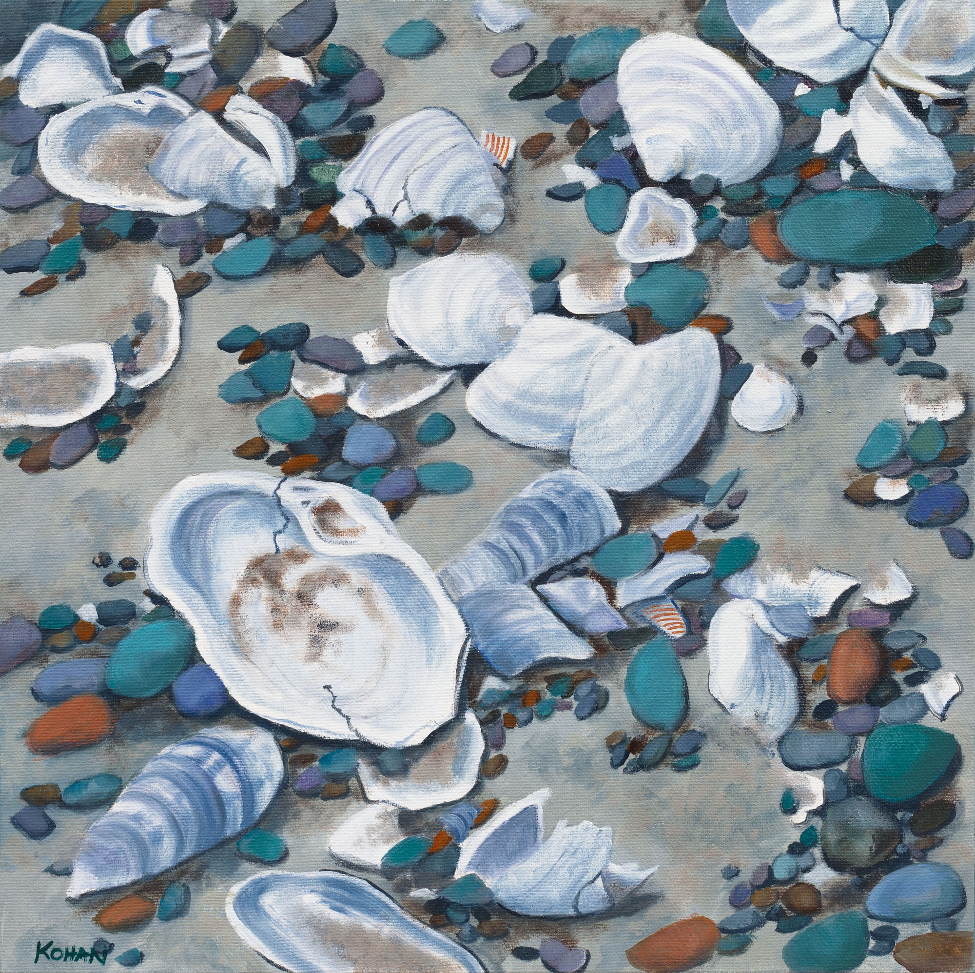 Jewels of the Sea-Shells