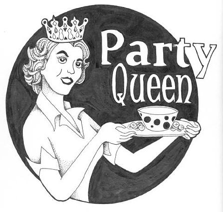 party queen gourmet dips and spices logo