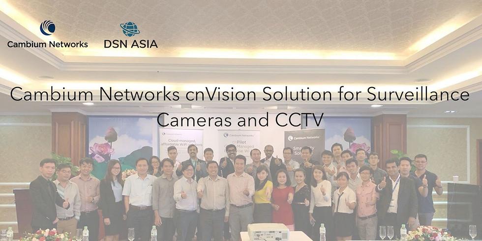Cambium Networks cnVision Solution for Surveillance cameras and CCTV