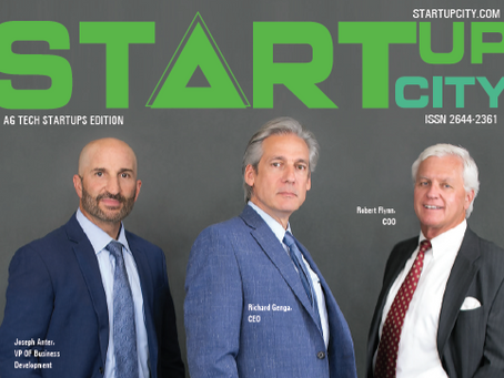 Startup City Magazine: Growgenics is Sparking the Light of AgTech Innovation
