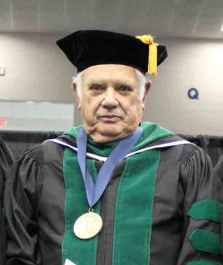 Parishioner Dr. Richard Gillespie Honored by LMU for Distinguished Service