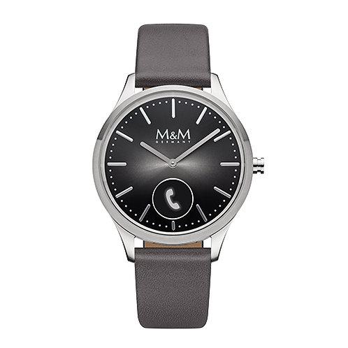 M&M Smartwatch - Edelstahl, matt/poliert, ø38 mm smash