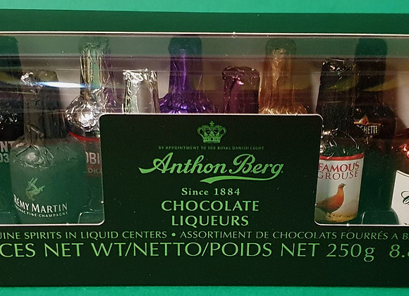 Anthon Berg Chocolate Liqueurs 16 Bottles