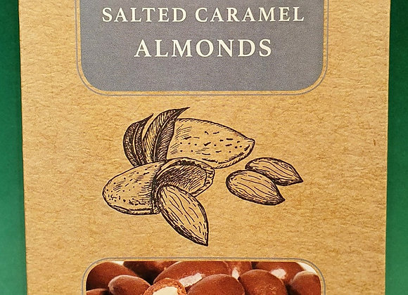 Salted Caramel Chocolate Almonds