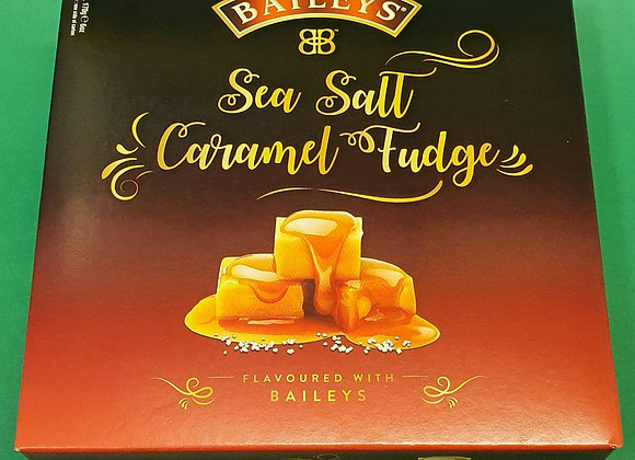 Baileys Salt Caramel Fudge