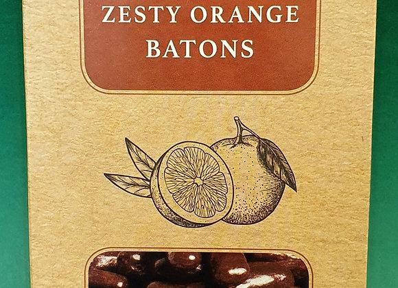 Dark Chocolate Zesty Orange Batons