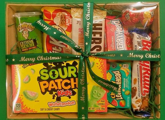Assorted American Candy & Chocolate Hamper