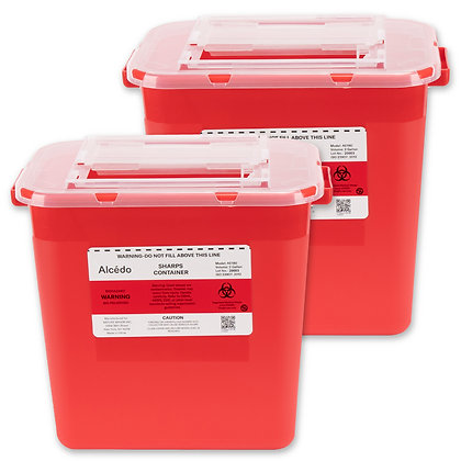 Sharps Container 2 Gallon (2-Pack)