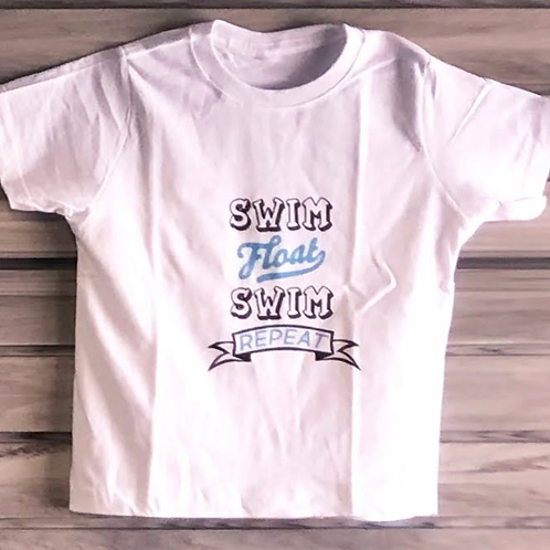 Swim Float Swim Youth Tee Shirt