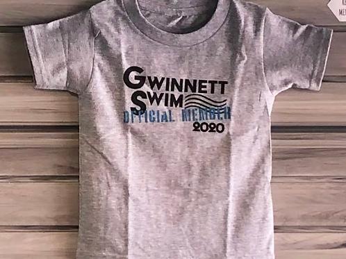 Gwinnett Swim Official Member Youth Tee Shirt