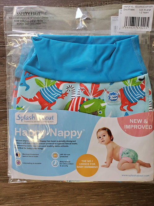 Happy Nappy Boys Dinosaur Swim Diaper