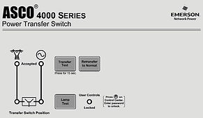 Панель индикации АВР ASCO серии 4000